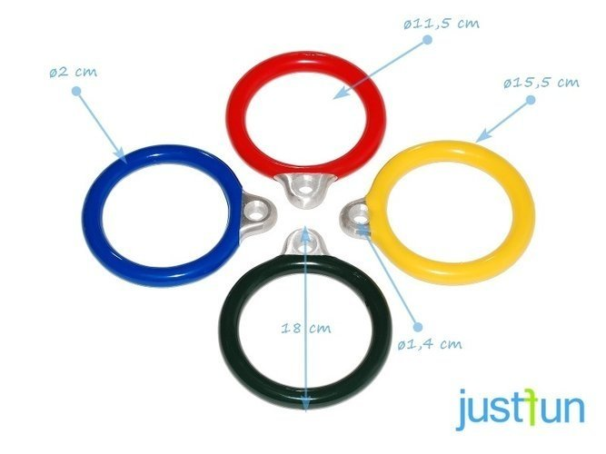Aluminium Rings round for commercial (without chains)