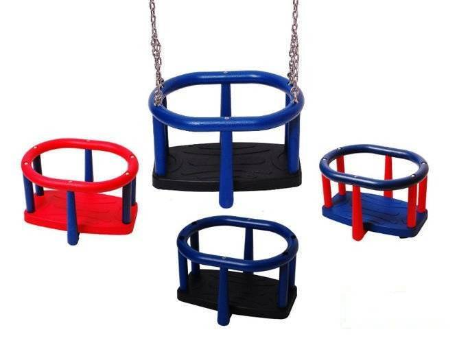 Baby swing seat LUX for commercial