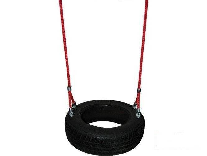 Double reinforced (armed) rope for tire
