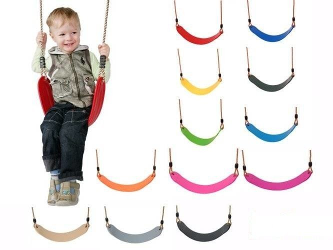 Flexible wraparound swing seat ECO