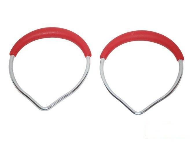 Metal Gym rings (without ropes)