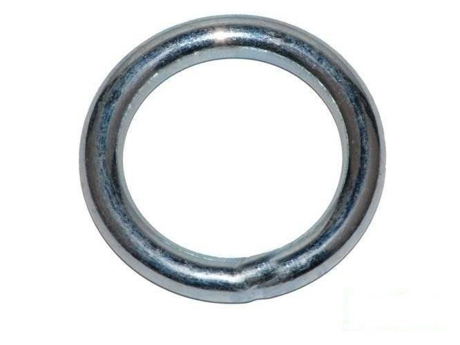 Metal ring  8x40 mm