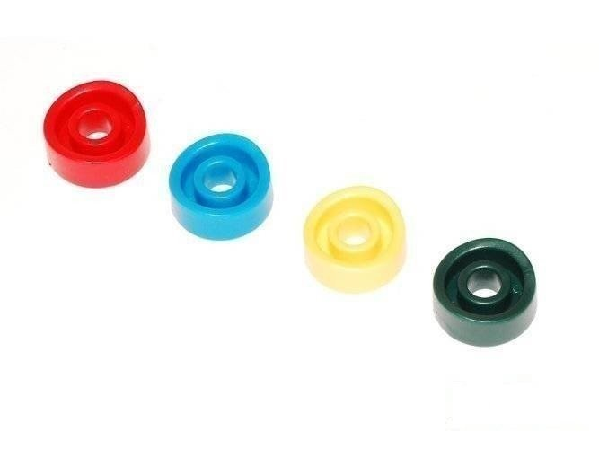 Plastic distance ring for round wood ø 120 mm