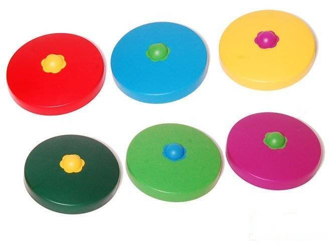 Round beam plastic cover Ø100 mm