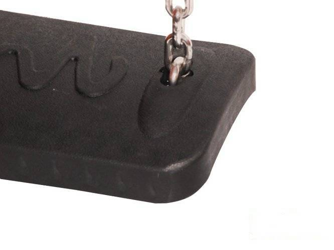 Rubber swing seat ECO for commercial