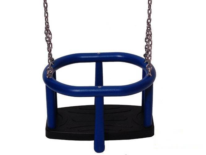 TPE baby swing seat  LUX with aluminium insert + Stainless steel chain set 5 mm 1,8 m